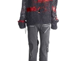Punk outfit worn by Marian Williams in the 1970s.
