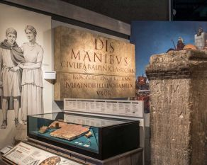 At 19, Claudia Martina is Roman Britain's youngest recorded wife. Her tombstone suggests her husband spared no expense – even though he was a slave working for the local government.