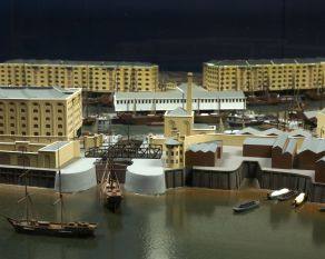 St Katherines dock model.jpg