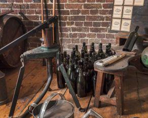 Bottling press, London Docklands.
