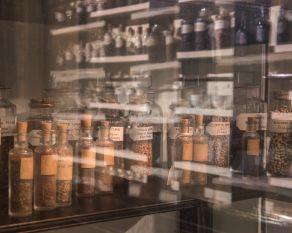 Warehouse of the World sampling case.